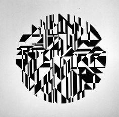 "Ernst Benkert ""Reverse Black"" 1964 Sprayed Laquer on Wood 28 x 32 inches"