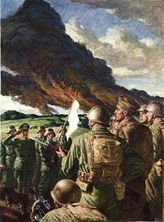 Surrender Of German Troops - Frank C. Bensing