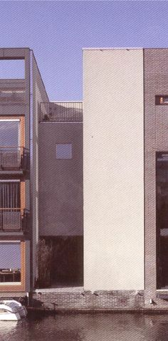 Casas en Borneo-Sporenburg, 12-18 Amsterdam 1999