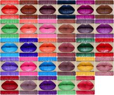 Pick 3 Color Rich Lipsticks or HD Lip Paints-In tubes Lipstick Colors, Lip Colors, Lipstick Ingredients, Red Lake, Everlasting Liquid Lipstick, Lip Palette, Paint Samples, Fractionated Coconut Oil, Lip Tint