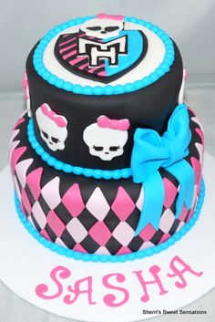 Monster High Cake Ideas