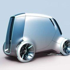Futuristic car.