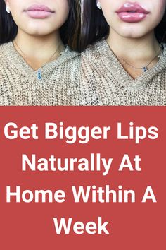 If you are interested in getting bigger lips then this home remedy can help you to get desired results.  #lips #biggerlips #getbiggerlips #getfullerlips Link Updated! Why People, Crazy People, Bigger Lips, Lip Surgery, How To Get Bigger, Your Lips, Health And Beauty, The Balm, Skincare
