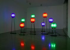 Diode Lamps by Marc Newsome: Made of glass, aluminum and carbon fiber.  #Lighting #Marc_Newsome #Diode
