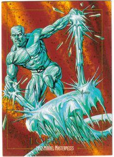 X-Men Iceman comics Marvel Comic Character, Marvel Comic Books, Comic Book Characters, Comic Book Heroes, Marvel Characters, Comic Books Art, Comic Art, Book Art, Marvel Comics