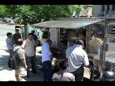 La Bruna - La prima tigelleria in versione street food - YouTube