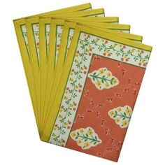 Table Placemats Set Of 6 Cotton Rectangular Spring Décor Floral by ShalinCraft, http://www.amazon.co.uk/dp/B00BJ1KR6G/ref=cm_sw_r_pi_dp_PBRhtb0J7W5SD
