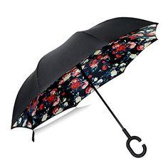 HAOYUXIANG Soleil Créatif Ombre Parapluie,Blue