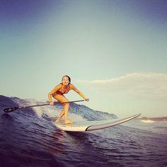 SUP surf FUN!