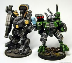 Agis Page of miniature painting and gaming - Tau