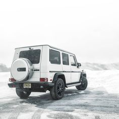 Winter's fury has met its match. Mercedes G Wagon, Mercedes Benz G Class, Luxury Cars, Recreational Vehicles, Cool Cars, Automobile, Instagram, Jackson, Wheels