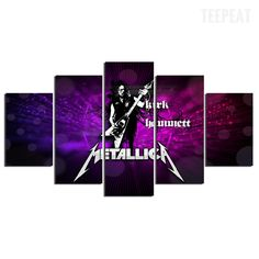 Metallica - 5 Pc Canvas Painting