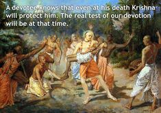 Bhakti Charu Swami on Real Test of Devotion For full quote go to: http://quotes.iskcondesiretree.com/bhakti-charu-swami-on-real-test-of-devotion/ Subscribe to Hare Krishna Quotes: http://harekrishnaquotes.com/subscribe/ #Death, #Faith