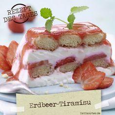 http://eatsmarter.de/rezepte/erdbeer-tiramisu – Ein Traum aus cremiger Füllung und süßen frischen Früchten