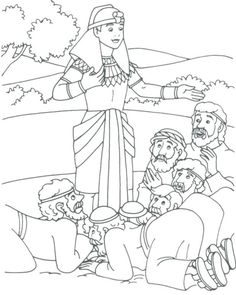 Forgives His Brothers Coloring Page Home Intended For Joseph Pages Dreams Mary And Sheets Free Bible