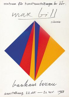 Max Bill, Bauhaus Dessau