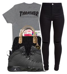 """Untitled #298"" by cieramonet ❤ liked on Polyvore featuring HUF, Michael Kors, Retrò and New Look"