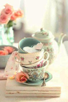 Schönes Porzellan. #teatime