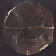 """inexpressibleisland: """" Detail from 'Portrait of Fra 'Luca Pacioli'. Mathematician. Jacopo Barbari 1495 Perspective, light and shadow of rhombicuboctahedron. """""""