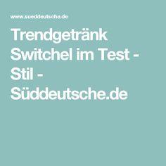 Trendgetränk Switchel im Test - Stil - Süddeutsche.de