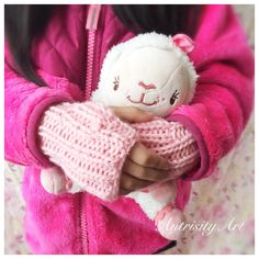 A personal favorite from my Etsy shop https://www.etsy.com/listing/479963418/childs-fingerless-mittens-hand-knit