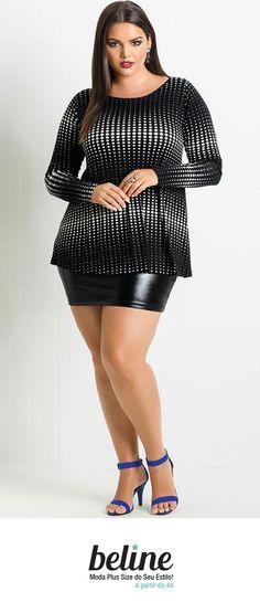 Para as temperaturas mais amenas a blusa plus size de manga longa é essencial no guarda-roupa feminino. Pode ser usada para compor diversos looks para várias ocasiões do dia a dia, desde o trabalho até uma festa.  Combine com calça, jaqueta e botas para os dias mais frios. Encontre as melhores blusas de manga longa plus size em: https://www.beline.com.br/roupas-femininas-plus-size/blusas-plus-size/blusas-moda-plus-size/blusa-manga-longa-plus-size  #beline #plussize #blusamangalongaplussize…