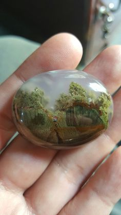 beautiful moss agate from Indonesia
