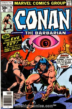 Goodwin is consulting editor. Featured Characters: Conan