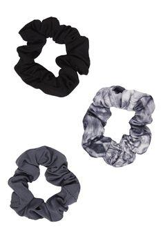 Primark - Lot de 3�chouchous de sport gris