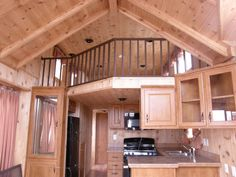 Inside the Big-Tiny House on Wheels ~ What a beautiful kitchen! I could live here.