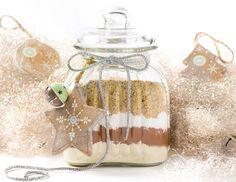 Vanillekipferl im Glas