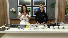 #healthyfood #healthyrecipe #cozinhanutritiva #comidadeverdade #saudavelsemneura chef Izabela Braga com a apresentadora Claudia Tenorio | Torta de Chocolate com Biomassa de Banana | Programa Vida Melhor | Rede Vida | Novembro 2015.