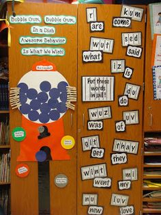 Neat idea for helping students spell sight words correctly!