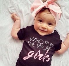 Who run the world girls tee