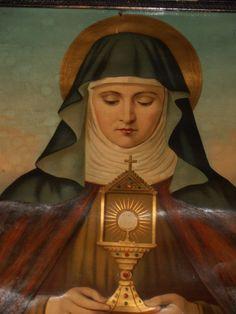 St Chiara of Assisi