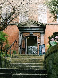 Entrance to Marsh's Library, Dublin, Ireland. Top libraries to visit in Dublin on my blog!