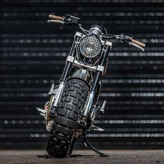 Down & Out's Fat-Tired Ducati Scrambler