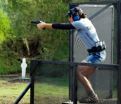 Kippi Leatham, 3-Time Open National Champion, Single Stack National Champion, 4-Time IPSC Gold TEAM World Champions Shooting Sports, Shield Maiden, Firearms, Champs, Target, Guns, Train, Female, Fit