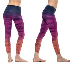 #HardTailForever |  hardtail-roll-down-layered-legging-tie-dye