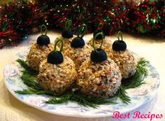 Snack «Christmas Tree Balls»