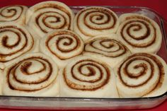 Dry Yeast, Meals For One, Cinnamon Rolls, Icing, Sweet Treats, Coconut, Vegan, Dishes, Glaze