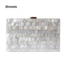 2018 Brand woman s evening Clutch new unique Marble Striped Shoulder Bag  elegant wallet Fashion Acrylic bolsa 516be9b8b920
