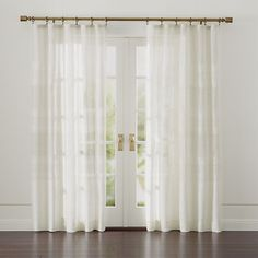 Shorewood Curtains | Crate and Barrel