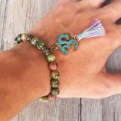 OM is perhaps the most important spiritual symbol. It is the song of the universe, the ultimate reality, the truth, and the divine.   #OM #Mindfulness #Bracelet #Culture #Tibetan