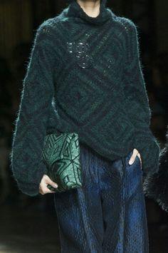 Modular knit, interesting ideas.