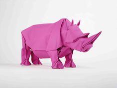Origami Rhino Art Video - Awesome!!