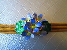 Floral Choker  One of a Kind by truthorwear on Etsy, $125.00