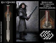 Kili's sword.