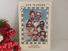 Canning Jar Covers Uncut Craft Pattern Luv'N Stuff Jars Galore Holiday Food Gift