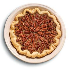 Maple-Bourbon Pecan Pie by Cooking Light